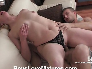 Older fatty and a sexy guy going for 69ing with unfathomable penetration in the end