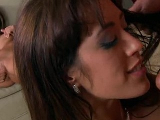 Capri comes home from work to celebrate her wedding anniversary with her wife Isabella. Capri gives Isabella a stunning diamond bracelet, but Isabella give Capri a blindfold and guidance to the bedroom. That's where Isabella lets Capri feel her present previous to that babe sees it: a male sex machine!