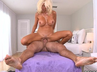 Welcome back to one more update of Porn Star Spa! We love our fucking job! Puma Swede makes our job more interesting. This chick is the typical Euro freak and has no shame in saying that that babe can't live without to fuck! This hottie didn't even hesitate pointing out our homie mirko's boner. Right away this babe pulled that shit out and sucked his hard wang. This Babe made sure to put Mirko's dick in her wet muff. Mirko, of course, didn't hold back and rub down her cookie with his plump schlong. With built up cum after fucking for her for quite some time That Guy busted a nut all over her mouth and bumpers. U'll watch how steamy ths got one time u hit that play button....have a fun!